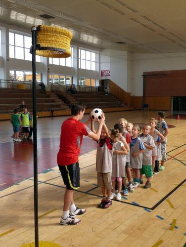 10.9.2009 - První trénink minižáků: P1020913.JPG